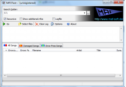 MP3Test V1.6.0 Build 157绿色版